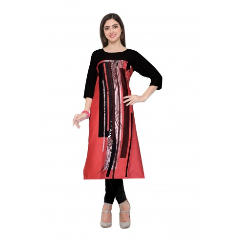 Exclusive Digital Printed Readymade Kurti